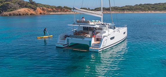 Catamaran? Comfortable and safe!