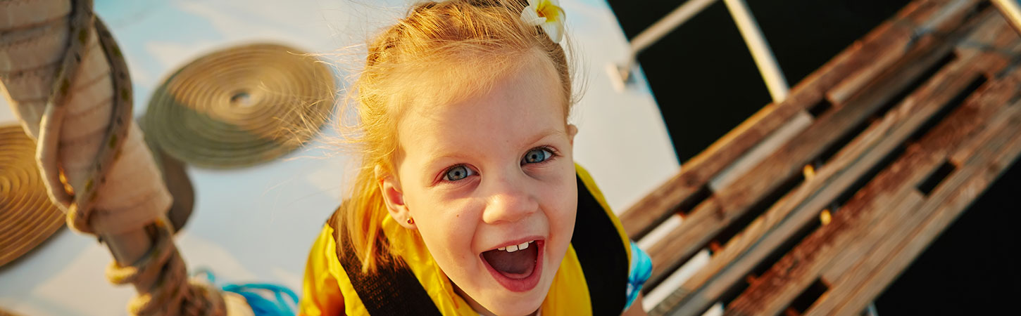 On a sailing cruise with children: guaranteed fun with your family
