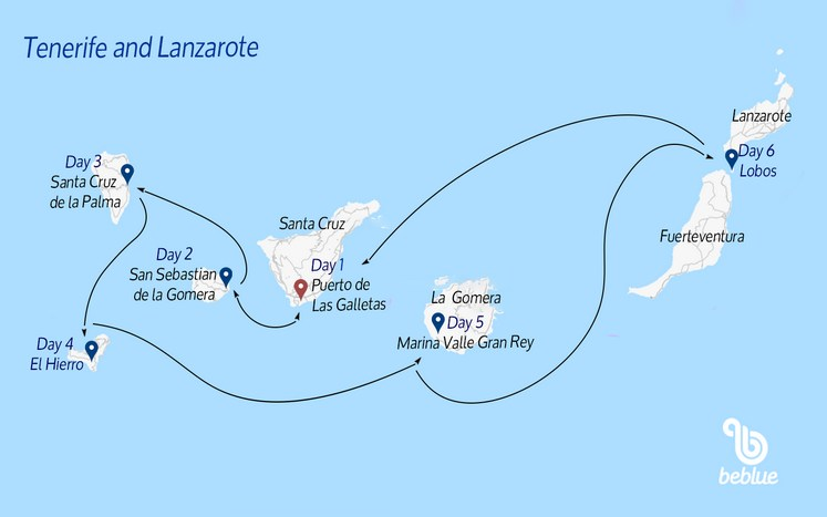 106 Sailing in the Canary Islands: Tenerife and Lanzarote