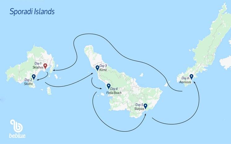 113 Isole Sporadi, Grecia: Crociere a vela