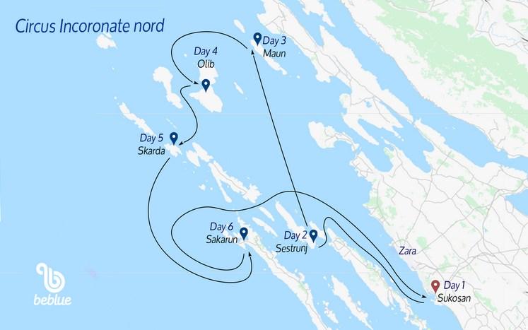 17 NORD Flottiglia Circus: Croazia e Parco delle Incoronate