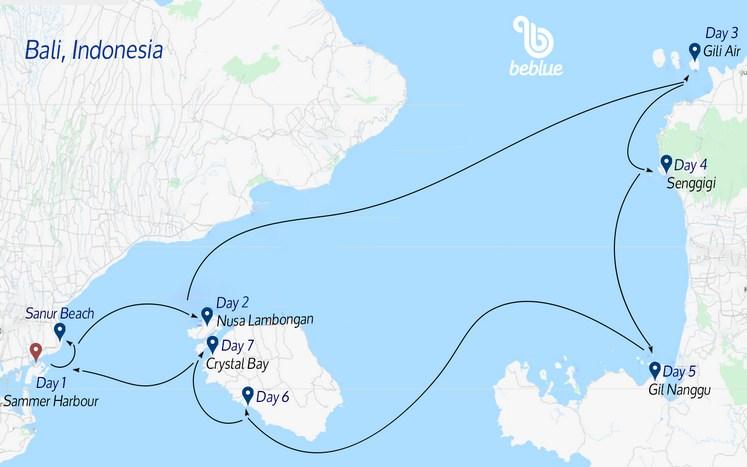 251 Crociere in catamarano a Bali, Indonesia