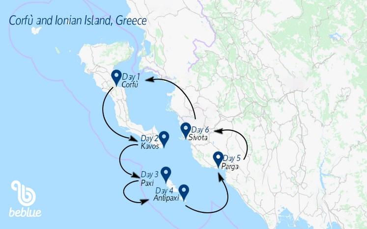 284 BeFamily sailing cruise: Corfu and Ionian Island, Greece