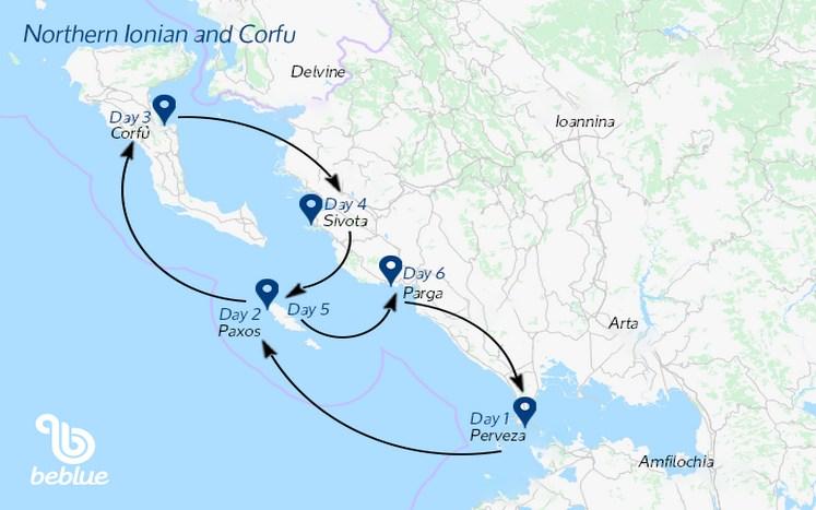 402-2 Crociera con equipaggio: Isole Ioniche, Grecia
