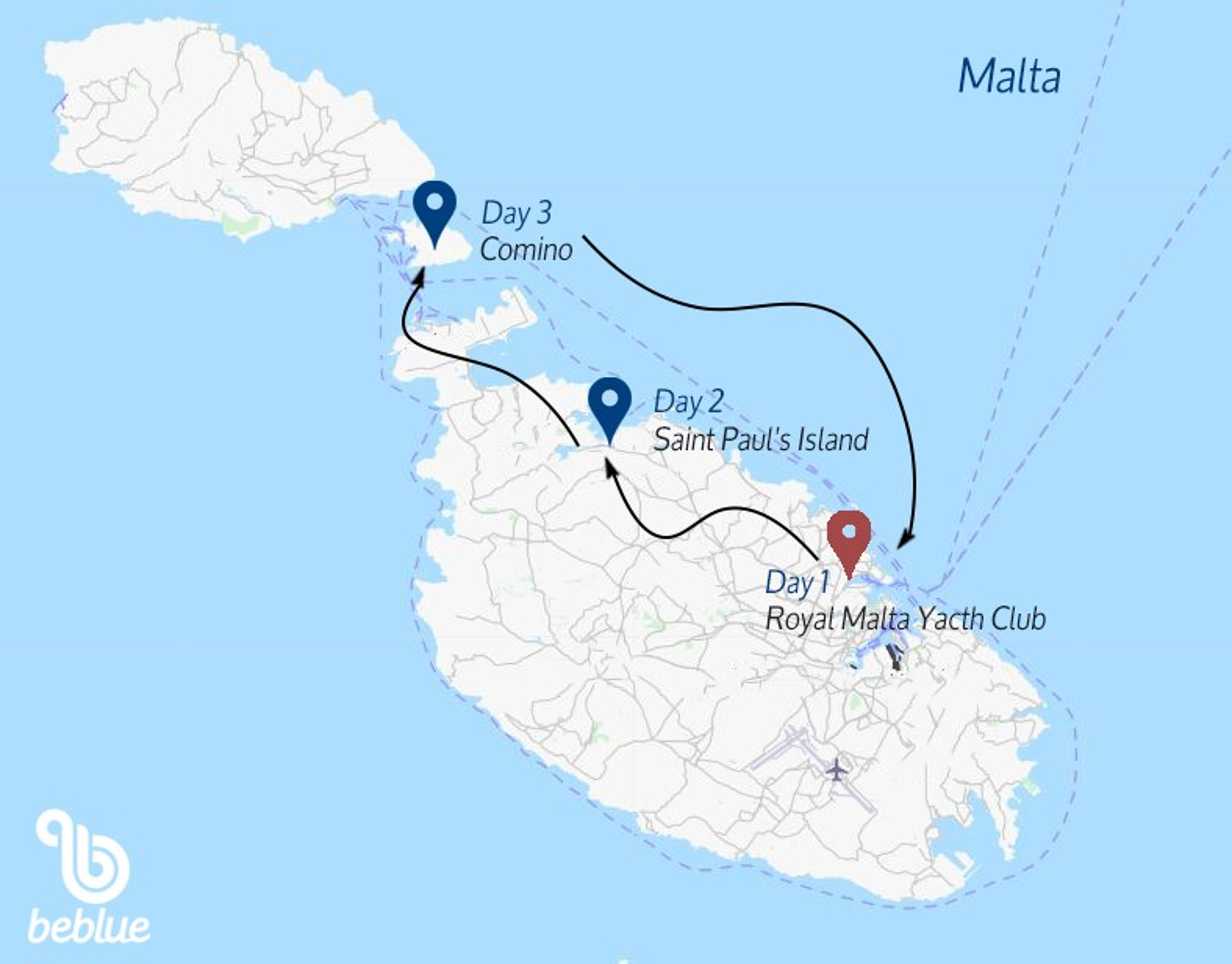 40 BeWeekend - Catamaran Trip to Malta