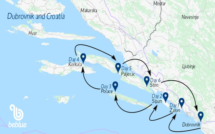 """411 Crociera """"All Inclusive"""": Dubrovnik e la Croazia in catamarano"""