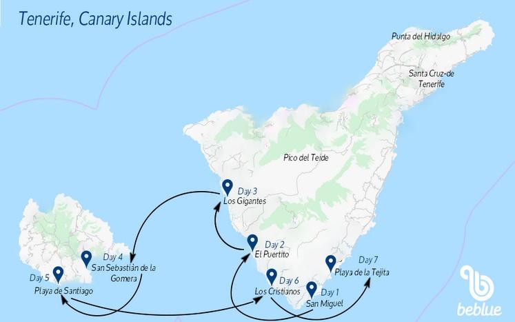 413 Flottiglia BeFree: Capodanno a Tenerife, Isole Canarie
