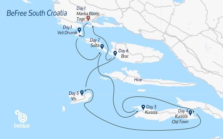 439 Sud Flottiglia Befree: Croazia