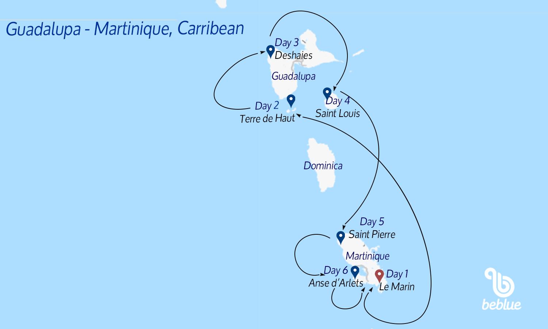 63 Itinerario Covid. Caraibi: in Catamarano dalla Martinica a Tobago Cays