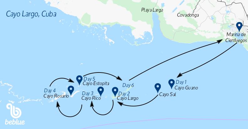 65 Cayo Largo, Cuba: crociera in catamarano