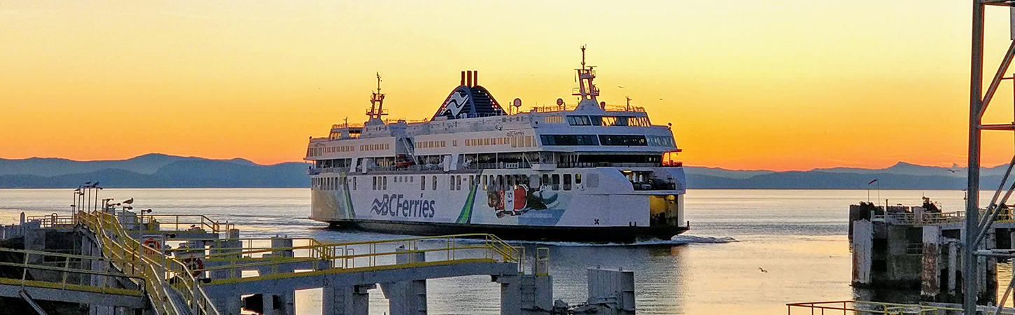 Ferries: choose and book tickets directly online