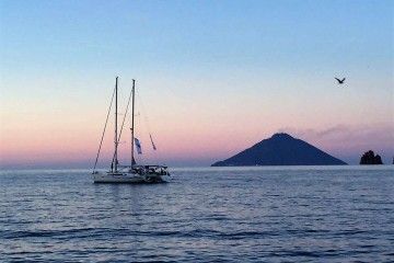 """All inclusive"" sailing cruise: Aeolian Islands"