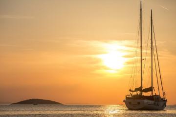 """Caicco """"Morning Star"""": Croazia del Sud"""