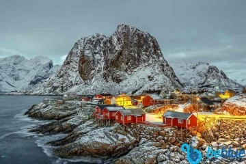 Norway, Ski&Sail Lofoten