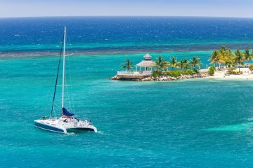 Exumas, Bahamas: Catamaran cruise