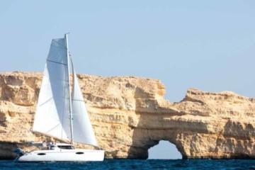 Oman: catamaran sailing cruise