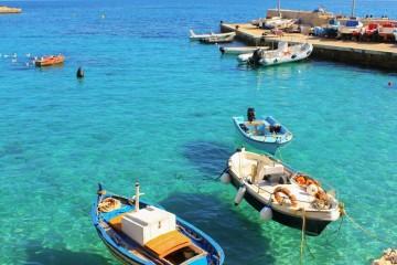 Crociere in barca a vela alle Isole Egadi, Italia