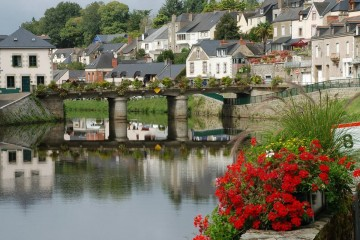 Bretagne, France: Houseboat cruise