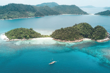 Sail and Dive: Mergui Archipelago, Myanmar 8 days