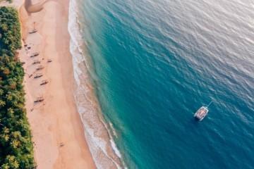Southern Sri Lanka: catamaran cruise