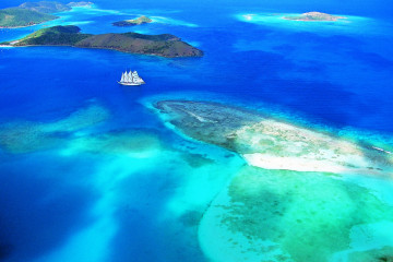Sailing ship cruise: Virgin Islands and Guadeloupe, Caribbean