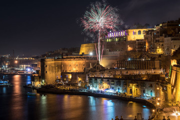 New Year's Eve flotilla in Malta