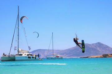 BeKite: Crociere a Vela per Kiters alle Cicladi, Grecia