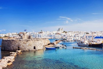 Catamaran crewed cruise: Cyclades from Paros, Greece