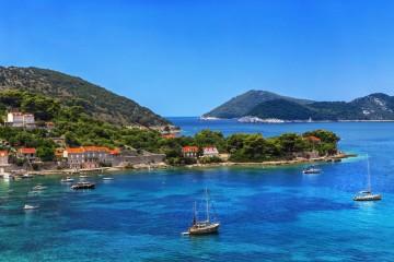 Crewed catamaran cruise: Split and Croatia