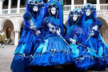 Carnevale di Venezia con BeBlue