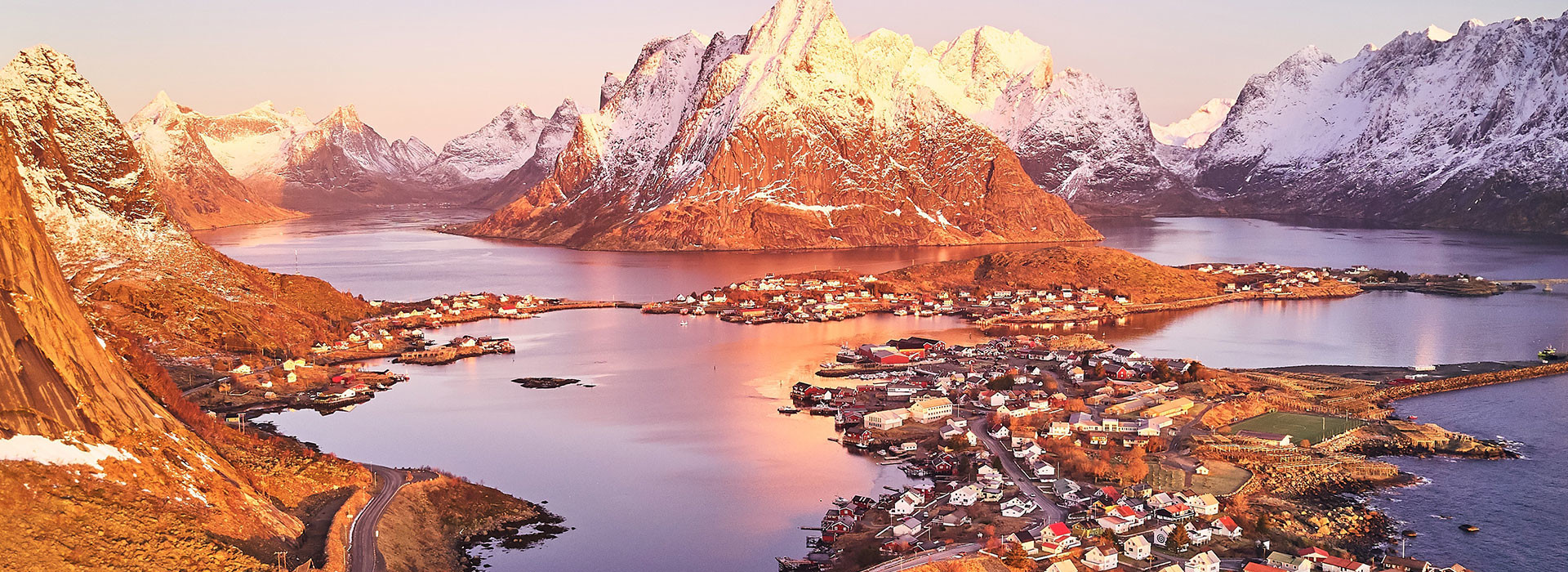 NORWAY, LOFOTEN: FJORD, WHALES AND SAILING