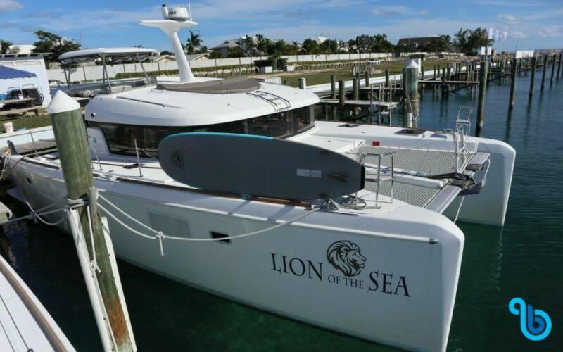 Lagoon 40 MotorYacht, Lion of the Sea **
