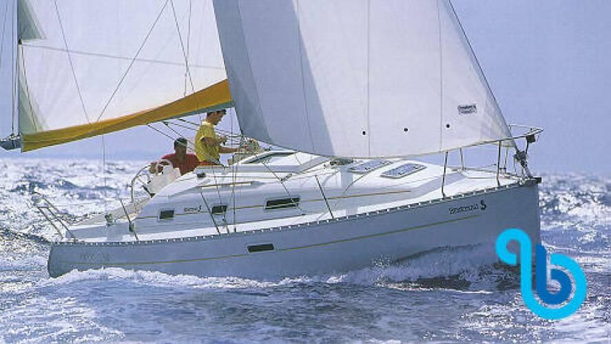 Oceanis 311, DAME DE NAGE