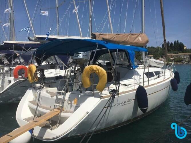 Sun Odyssey 36i, Marina